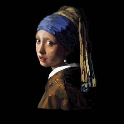 Lisa Padilla Girl With The Pearl Earring Virtual Reality